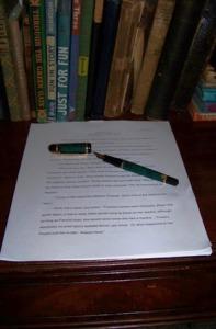 KMHuberImage; writing