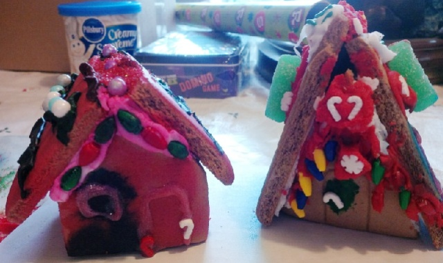 Gingerbread houses 1214
